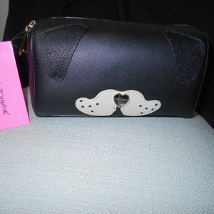 Betsey Johnson DOG COSMETIC BAG